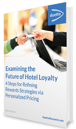 Duetto's whitepaper explains the future of hotel loyalty in four steps