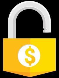 gold-lock-open
