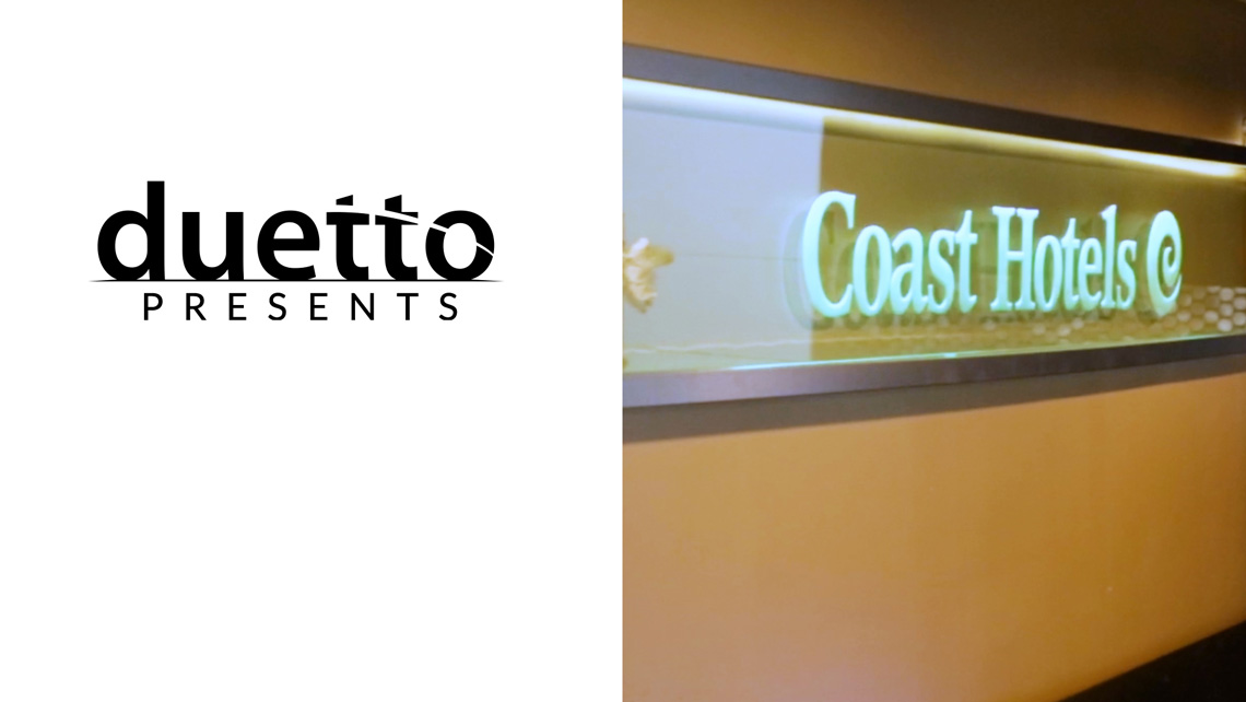 Duetto Presents: Coast Hotels