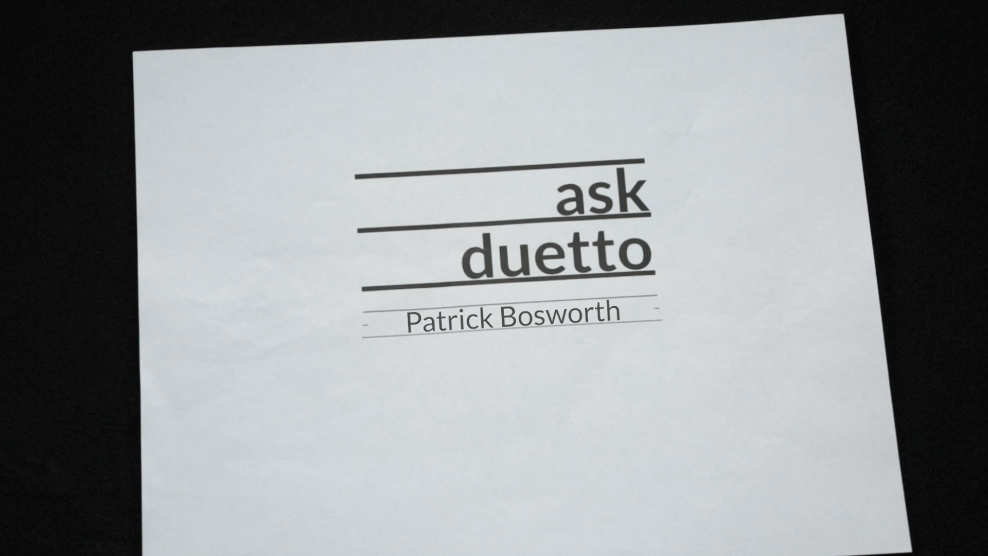 ASK DUETTO, Episode 3: Can an algorithm know more about my market than me?