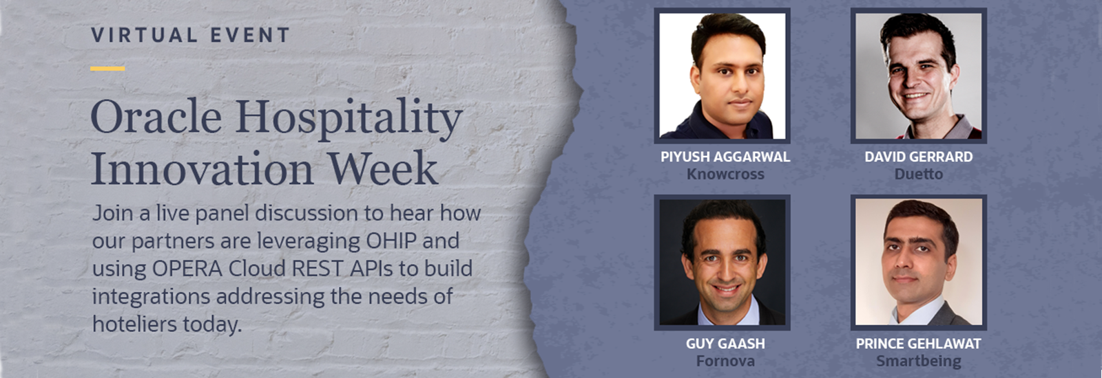Oracle Hospitality Innovation Week 2021