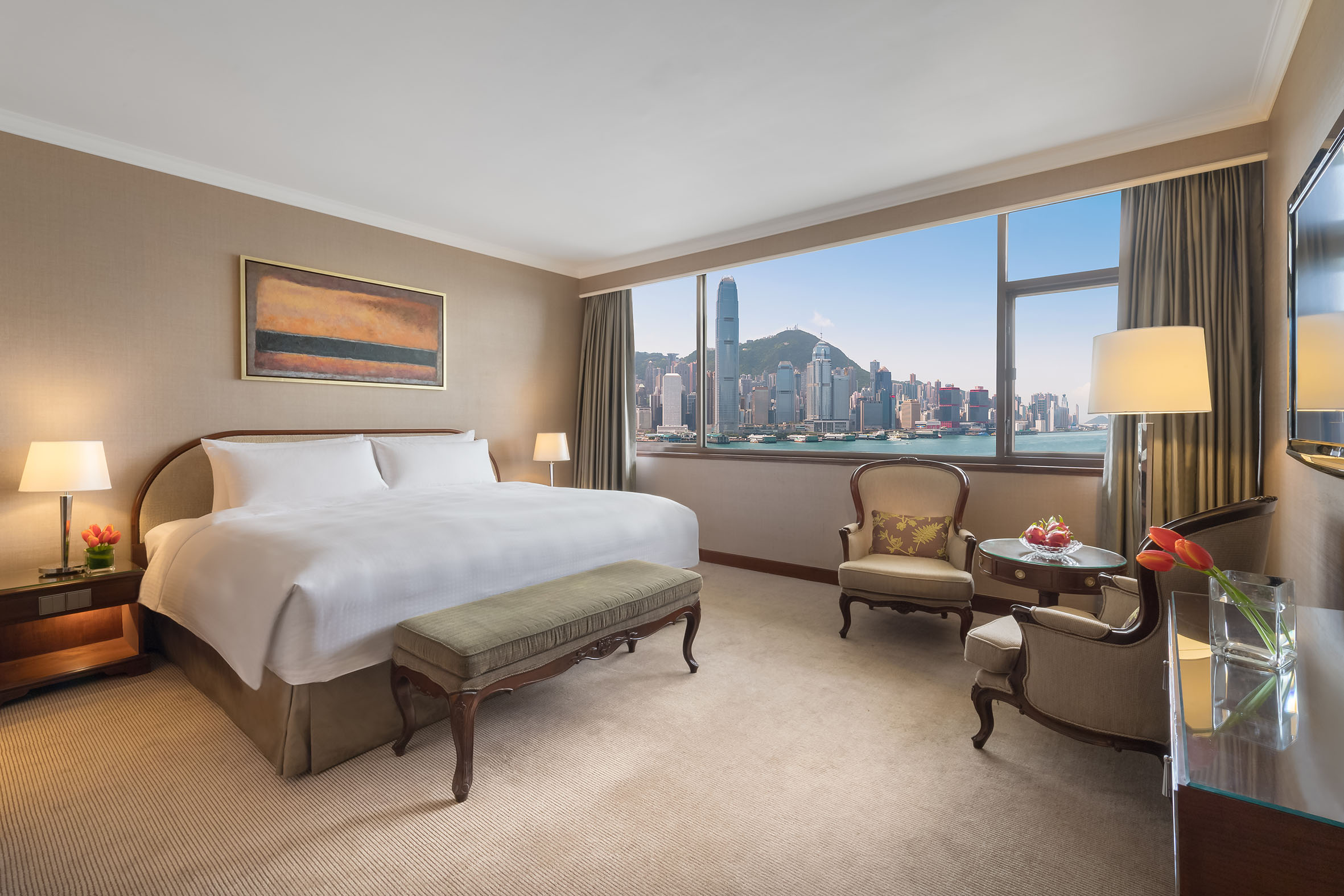 Marco Polo Hongkong Hotel_Deluxe Harbour View Room_(King or Queen)