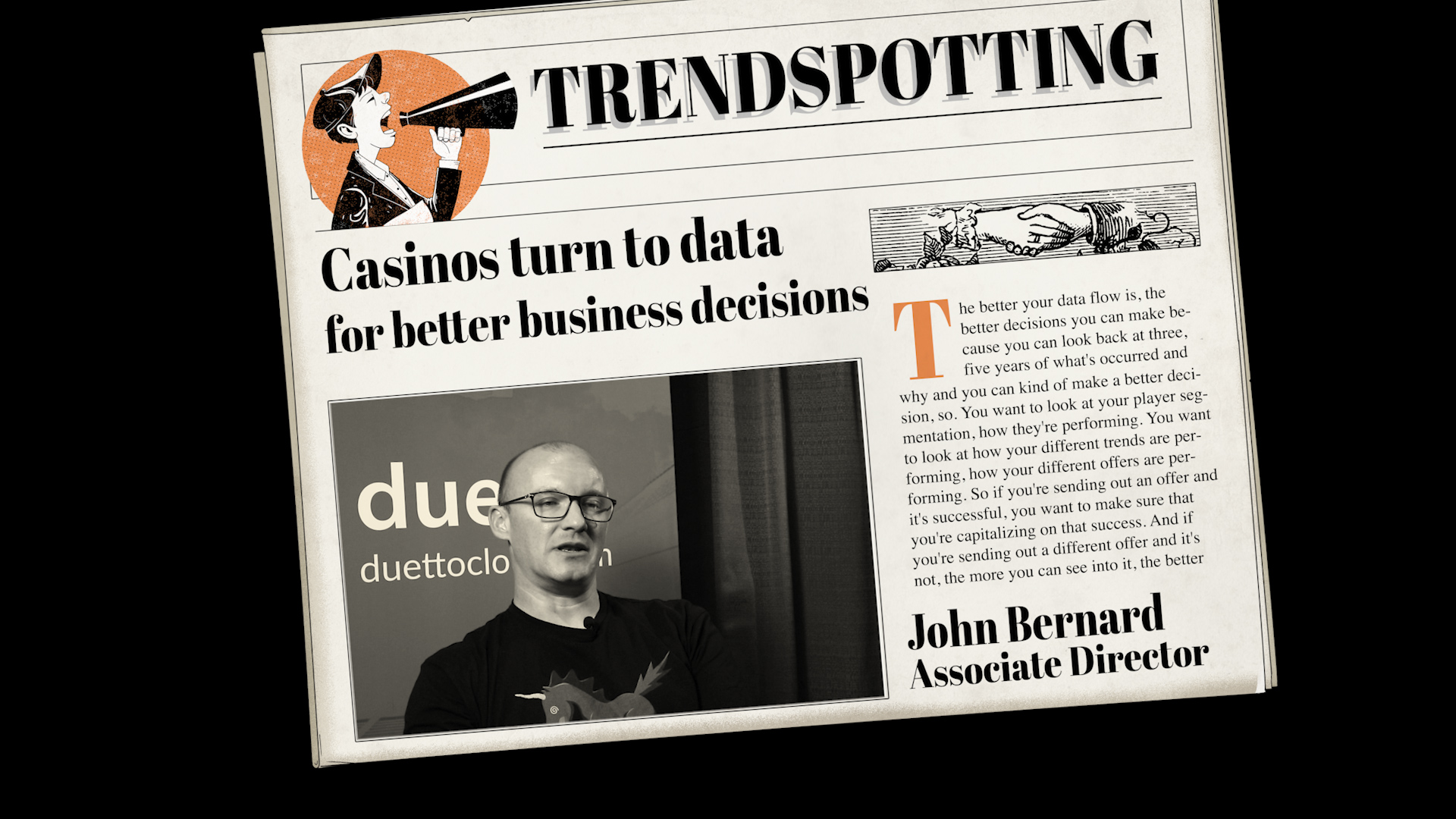 Trend Spotting 22: Casinos Turn To Data For Better Business Decisions