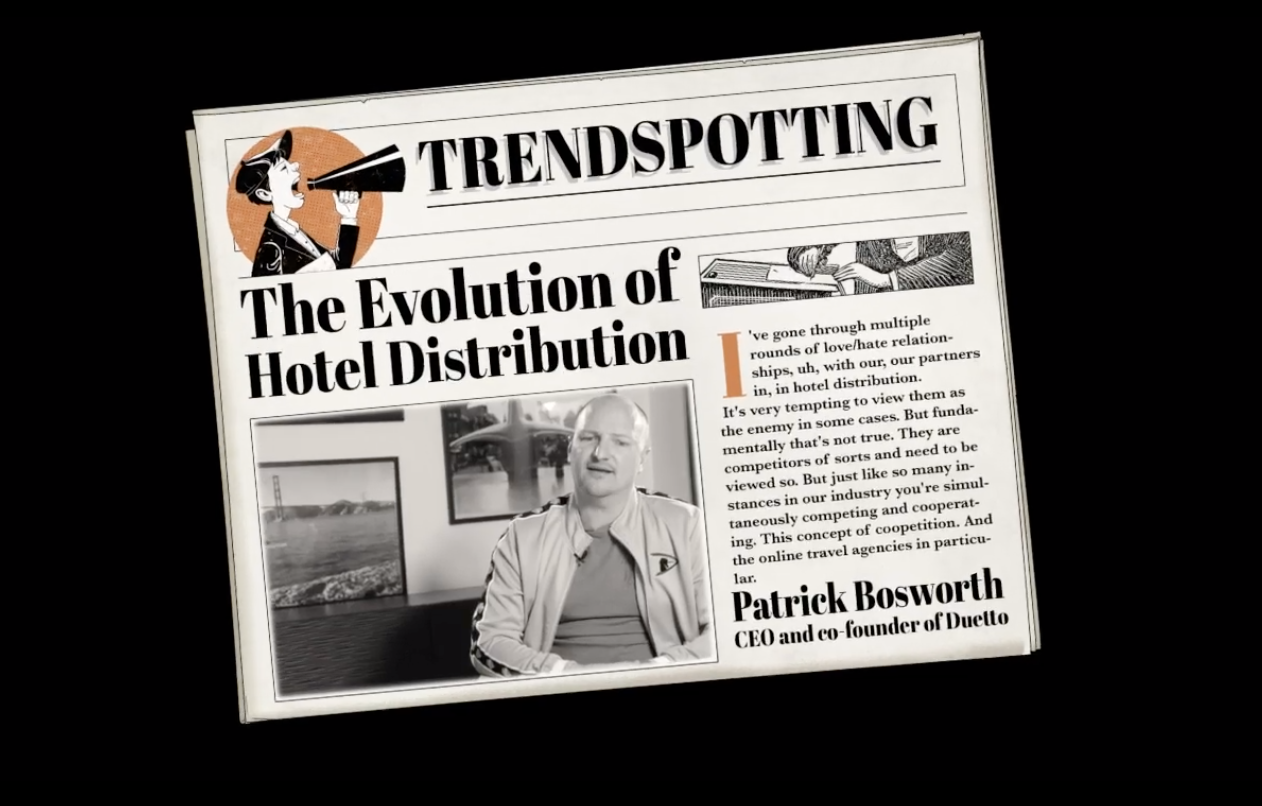 The Evolution Of Hotel Distribution